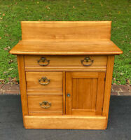 Antique 19th Century Victorian Eastlake Style Dry Sink - Shipping Available