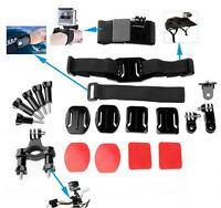 20 In1 Outdoor Kit Set Head Bicycle Holder Accessory For GoPro1 2 3 4 Camera HOT