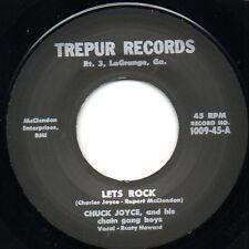 Chuck Joyce - Let's Rock / Milkman Blues - Trepur 45 Rockabilly RE Hear