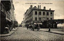 CPA Lyon - Saint-Clair - La Grande Rue (470360)