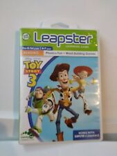 Leap Frog Leapster Learning Game Toy Story 3 LeapFrog leapster & leapster 2  Q8