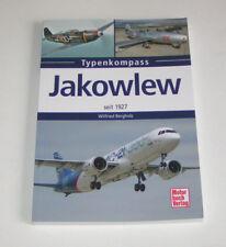 Jakowlew Avions Seit 1927 De AWF-10 Jusqu'À Jak-130 Typenkompass