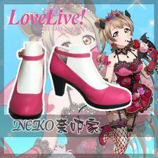 Love Live Devil Demon Kotori Nozomi Maki Honoka Eli Rin Nico Cosplay Shoes