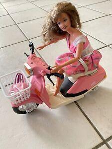 Barbie Mit Roller