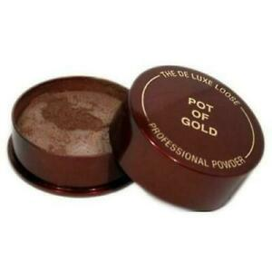 Pot of Gold The Deluxe Professional Loose Powder Bronzer Bronzing Compact Powder