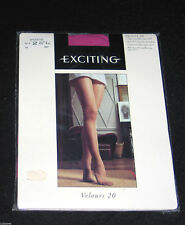 "COLLANT T 2 FRANCE ""EXCITING VELOURS"" LILAS MICROFIBRE LYCRA SEXY MODE JET-SET"