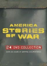 America:Stories Of War.Massive Doco Set - 24DVD. Brand New In Shrink! R4