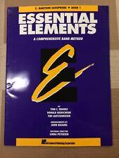 Essential Elements, Eb Baritone Saxophone, Book 1