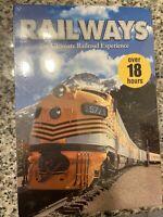 Railways: The Ultimate Railroad Experience DVD 10-Disc Box-Set Trains Dvd