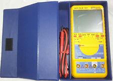Digital Multimeter Auto Range Tester Voltmeter Kilter 787 Ammeter AC DC OHM
