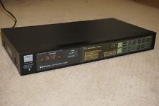 Vintage Sanyo JT440 AM/FM Stereo Tuner -Cool 80s Design, Great Reception & Sound