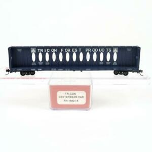 Red Caboose Tricon Forest Products HLSC 73' Centerbeam Car RN-16621-6 N Scale