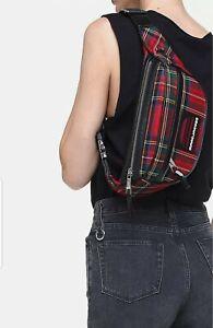 Marc Jacobs Women's Wool Plaid Fanny Pack Plaid