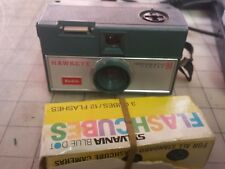 Kodak Instamatic R4 Hawkeye Camera AND SYLVANIA MAGIC CUBES FLASH