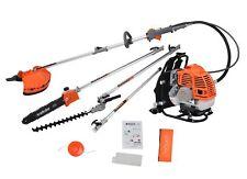 eSkde 5 in 1 Petrol Multi Tool Back Pack Brush Cutter Hedge Trimmer Pruner 52cc