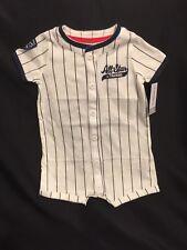 NWT Carter's Baby Boys * FUTURE ALL STAR * Baseball Romper 6M 6 mo Sports Button