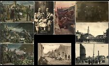 Germany WWI WAR Military Fieldpost Antique Postcard Photographs Cover Collection
