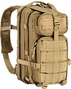 Zaino tattico militare/softair 35 lt. Defcon5 colore tan.