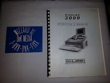 Dahlgren / Suregrave Wizzard 2000 Manual