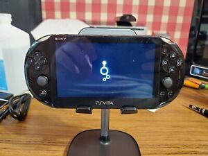 Black PS Vita Playstation Vita 128GB 3.60fw Henkaku Enso