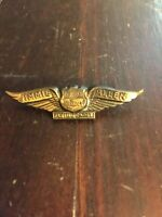 Vintage Jimmie Allen Flying Cadet Wings Richfield Hi Octane Gas Advertising Pin