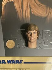 Hot Toys Luke Skywalker ROTJ DELUXE MMS517 Head Sculpt 1 loose 1/6th scale