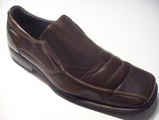 Aldo Brown Leather Bicycle Toe Loafers Oxfords Mens Shoes Size 43 10 @ cLOSeT