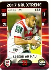 St George Illawarra Dragons Single NRL & Rugby League Trading Cards
