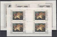 AH5267/ CZECHOSLOVAKIA – Y&T # 2783 / 2785 MINT MNH SOUVENIR SHEETS – CV 95 $