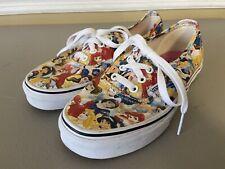 Vans Disney Princess Canvas Shoes Women's Size 6 Mens 4.5