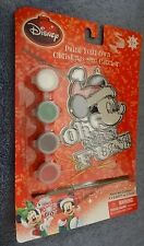 Disney Mickey Mouse Paint Your Own Christmas Sun Catcher New