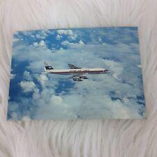 Japan Air Lines JAL DC 8 Jet Courier Airplane Vintage Postcard