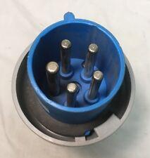 Cooper CW 560 P9W 60 Amp 120/208 Volt  4P 5W Pin & Sleeve Male Plug Nema 4X,IP66