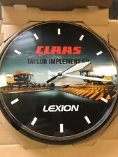 Farm Implement Battery Operated Wall Clock New