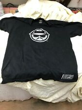 Official Lowrider T-shirt Black Thick Shirt Embroidered Heavy Size Lg  Lowrider