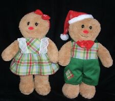 Build A Bear Gingerbread Boy Girl Doll Plush Stuffed Clothes Outfit 16""