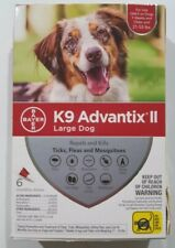 Bayer K9 Advantix II Large Dog Flea & Tick Treatment  21-55 lbs 6 Doses