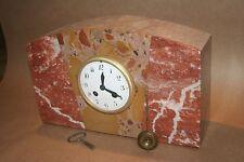 Pendule marbre Art Déco - mouvement de Paris révisé
