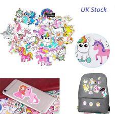 33PCS Unicorn Vinyl Sticker Bomb Car Bag Bike Laptop Luggage Skate Phone UK
