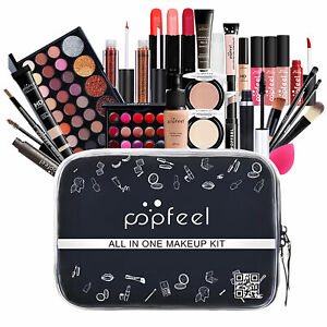 Professional Beauty Make Up Box Cosmetic Colour Vanity Case Girl Gift Set