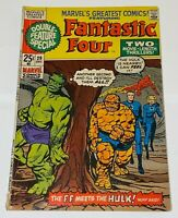 1970 Marvel's Greatest Comics Fantastic Four Issue #29 Double Feature Special!