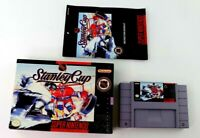SNES NHL Stanley Cup w/Box & Manual (Super Nintendo, 1993) Tested