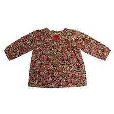 BNWT Adorable Baby Girls NEIGE Blouse Top Liberty Print Floral Smocking 24M $88
