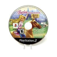 Barbie Horse Adventures: Riding Camp (PlayStation 2 PS2, 2008) Disc Only Tested