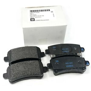 GENUINE ORIGINAL VAUXHALL REAR BRAKE PADS FITS: INSIGNIA 2.0 CDTI 08-17 BPS3154E