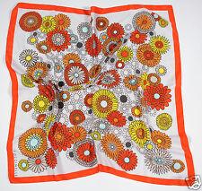 Neu Coccinelle großes Tuch Schal Halstuch Scarf 85cm x 85cm (59) 1-16 #100