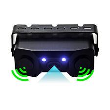 3IN1 Video Parking Sensor Car Reverse Backup Camera with 2 Radar Detector Sensor