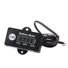 LED Digital battery status Charge Indicator Monitor Battery meter 12V / 24V Q5I7