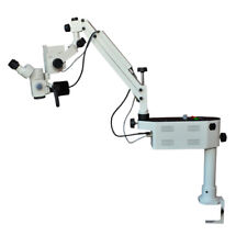 Ophthalmic Surgical Microscope Three Step With Beam Splitter Led Light