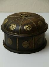 Vintage Treasure Box Jewellery Handmade Decorated Artwork Used Great Condition